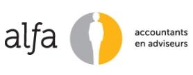 Logo Alfa Accountants en Adviseurs (Groningen)